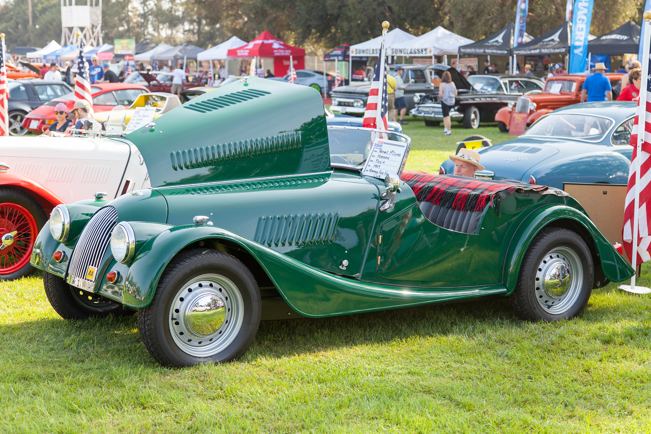 1959 Morgan Plus 4, owned by Thomas McClung