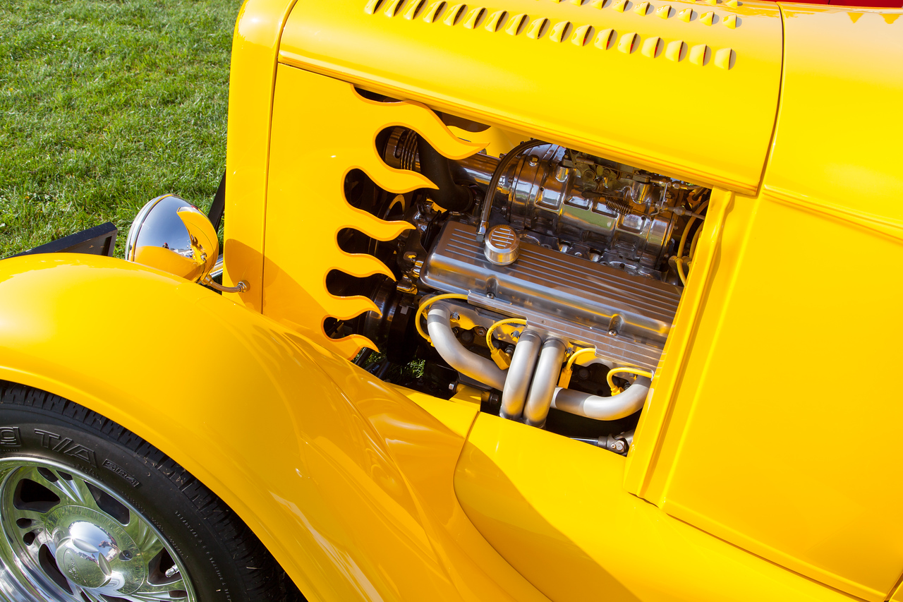 1931 Ford Model A Roadster, owned by Bob Gluck
