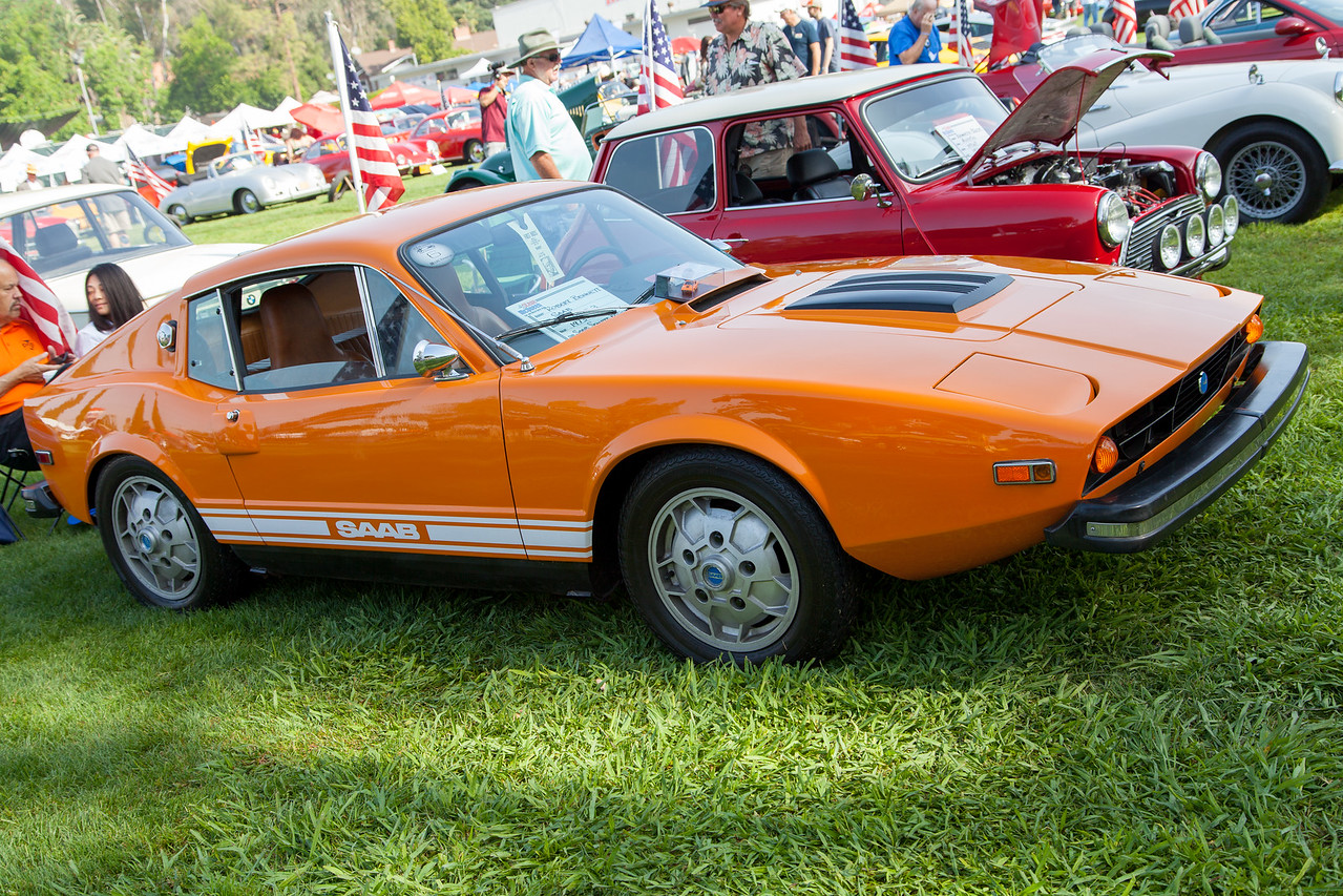 1973 Saab Sonett3, owned by Robert Bennett