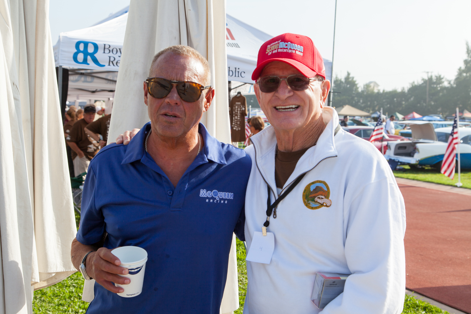 Co-chairs Chad McQueen and Ron Harris -  The Friends of Steve McQueen Car and Motorcycle Show