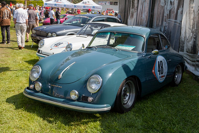 1957 Porsche 356 Coupe, owned by Ron Harris