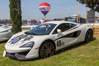 2016 McLaren 570 S, owned by Gareth Ashworth