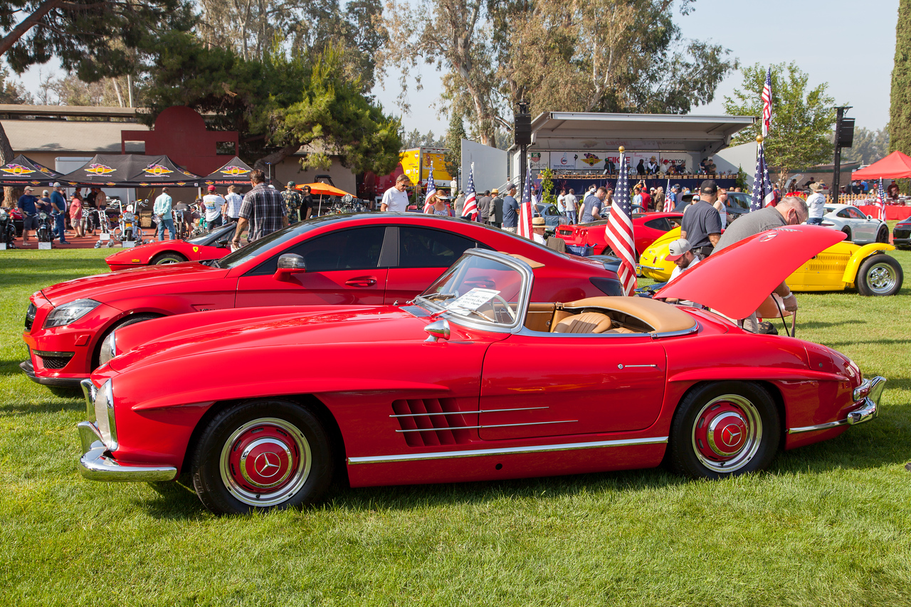 1958 Mercedes Benz 300SL Roadster, owned by Howard Green