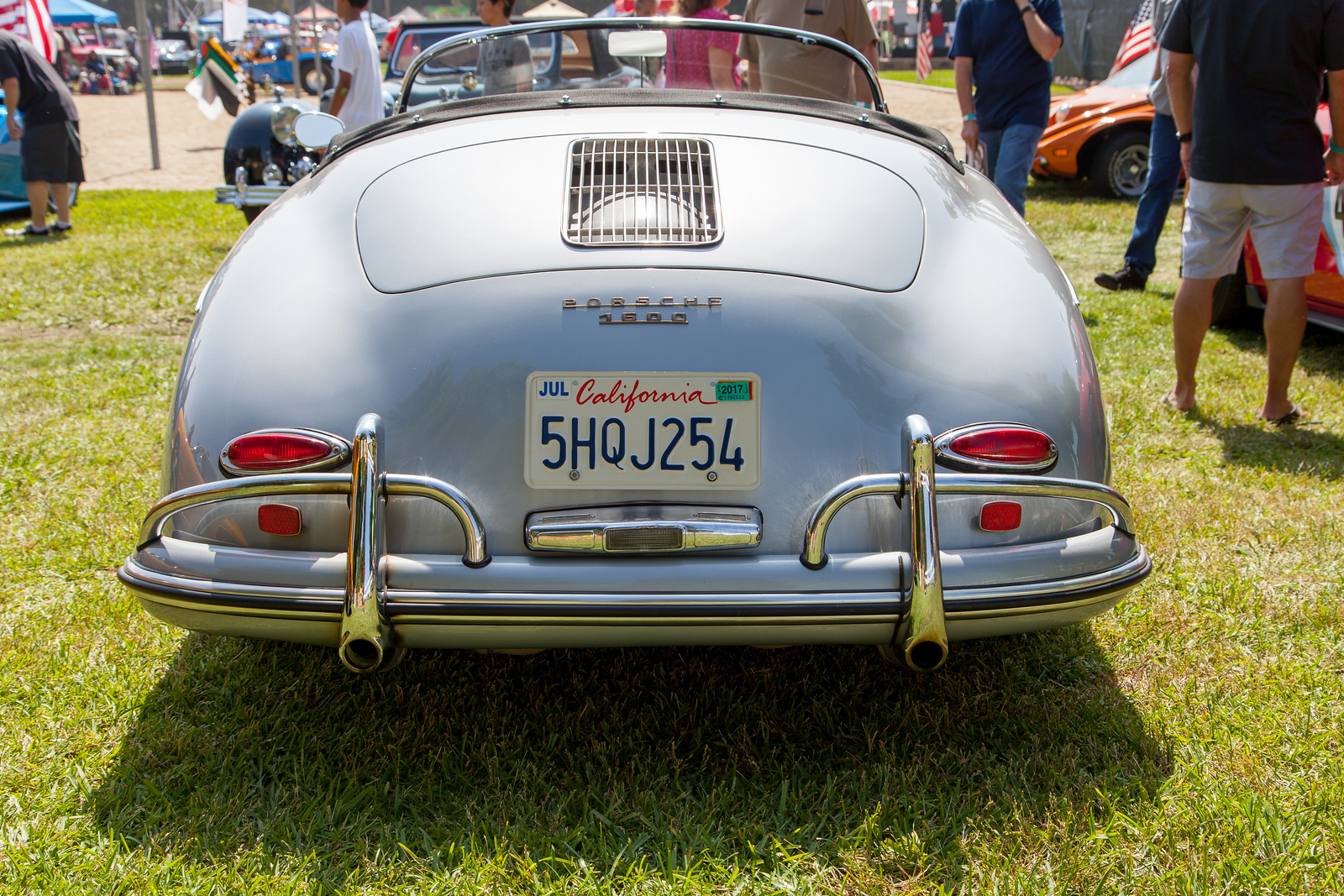1958 Porsche 1600 Speedster, owned by Bruce Brown