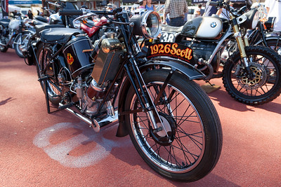 1929 Scott 596cc Super Squirrel,