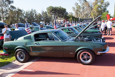 Mustang Bullitt in Highland Green