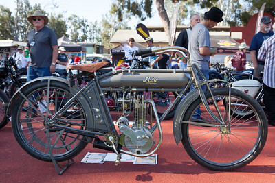 1914 Pope 500cc previously owned by Steve McQueen