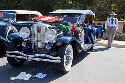 """""""Best In Show - Concours d'Elegance"""" 1929 Duesenberg Model J129 LeBaron DC Phaeton"""