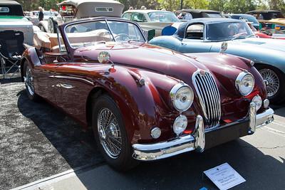 """Phillip """"Gus"""" Ludwig's 1957 Jaguar XK-140"""