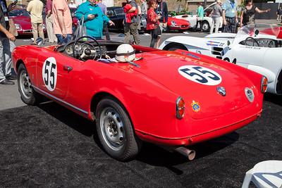 1956 Alfa Romeo Giulietta Spider Veloce - owned by Brandon Adrian