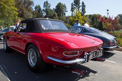 1967 Ferrari 330 GTS - owner Michael Adams