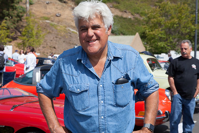 Jay Leno, former Tonight Show host, comedian and host of NBC's Jay Leno's Garage