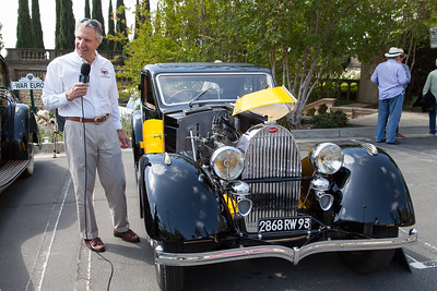 Bruce Meyer and his 1935 Bugatti Type 57 Ventoux
