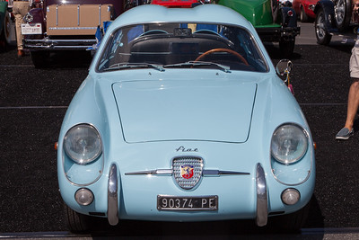 1958 Fiat - Abarth 750 GT Coupe, owned by Alan & Wendy Hart
