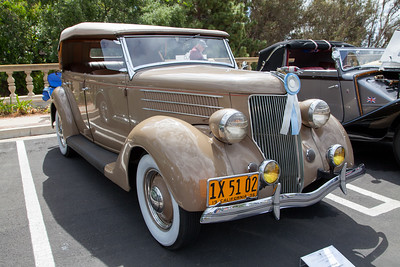 1936 Ford Phaeton, owned by Bruce Hand