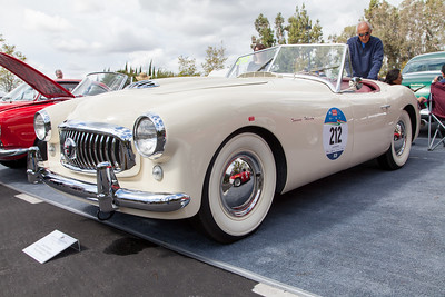 1951 Nash-Healey Spyder, owned by John Karubian