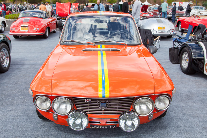 1970 Lancia Fulvia 1.6HF, owned by Edward Levin