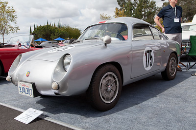1958 Abarth Double Bubble, owned by The Byrd Family