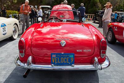 1965 Alfa Romeo Giulia Veloce, owned by Melvin Lebe