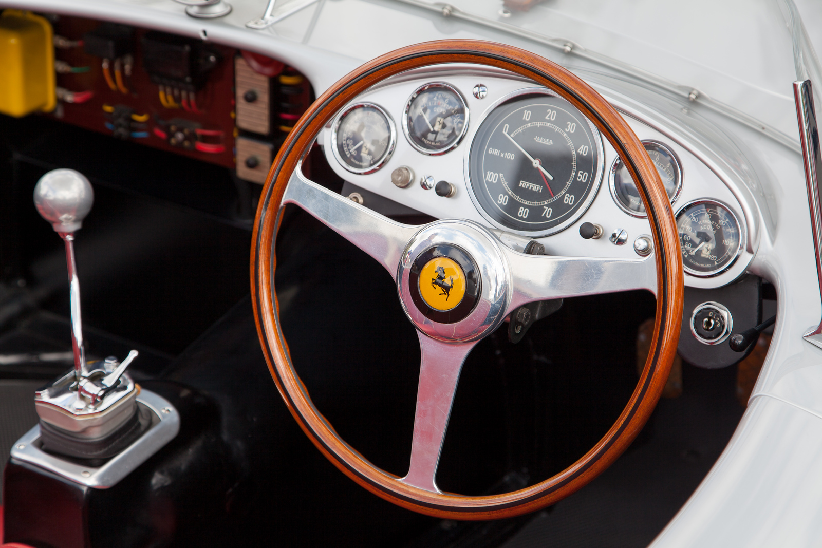 1957 Ferrari 625/250 TRC, owned by Bruce Meyer