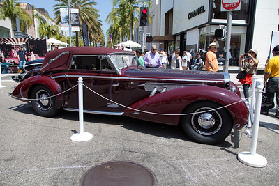 1939 Delage D8-120 Cabriolet by Chapron
