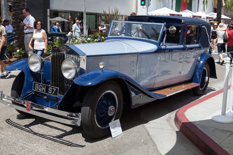 1930 Rolls Royce Phantom II Town Car