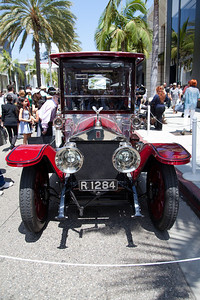 1914 Rolls Royce Silver Ghost Rothchild et Fils style limousine