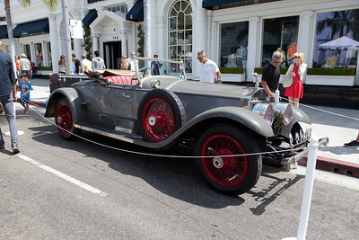 1924 Rolls-Royce Silver Ghost Picadilly Roadster - formerly owned by Howard Hughes.