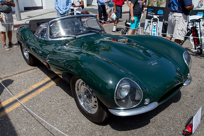 1956 Jaguar XKSS - formerly owned by Steve McQueen.