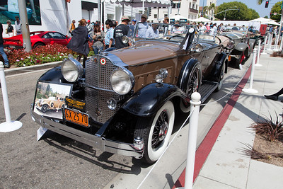 1932 Packard 903 Sport Phaeton -formerly owned by actress, Jean Harlow.