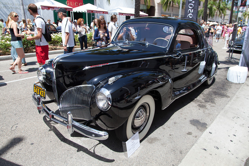 1941 Lincoln Zephyr V12 Three Person Coupe