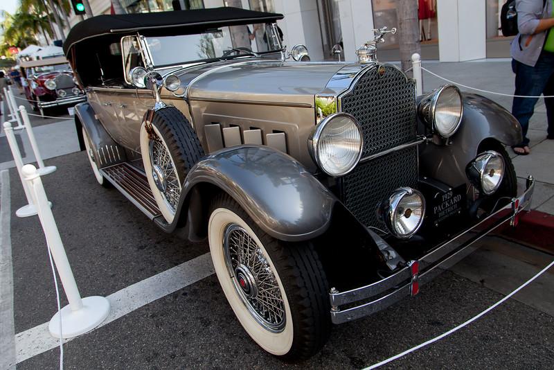 1929 Packard 645 Dual Cowl Phaeton by Dietrich - owned by Dana & Lianne Graham