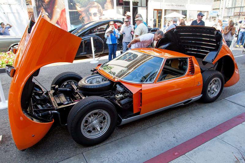 1970 Lamborghini Miura S - owned by Jeffrey Meier