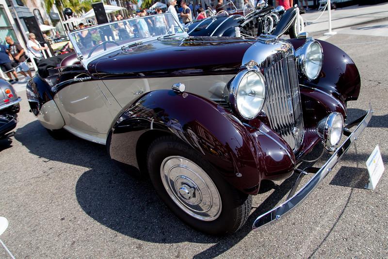 1939 Lagonda Riptide V12 - owned by Ron Rezek