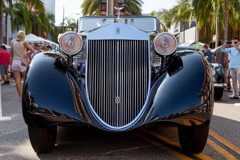 1925 Rolls-Royce Phantom I Aerodynamic Coupe by Jonckheere - The Petersen Collection