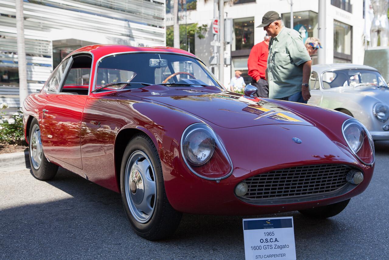 1965 O.S.C.A. 1600 GTS Zagato owned by Stu Carpenter