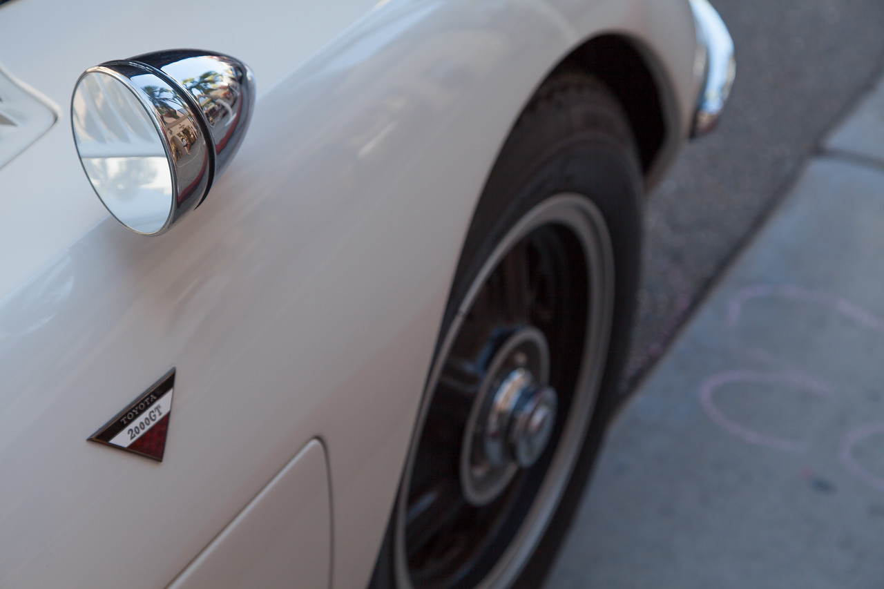 1968 Toyota 2000GT owned by Mike Malamut