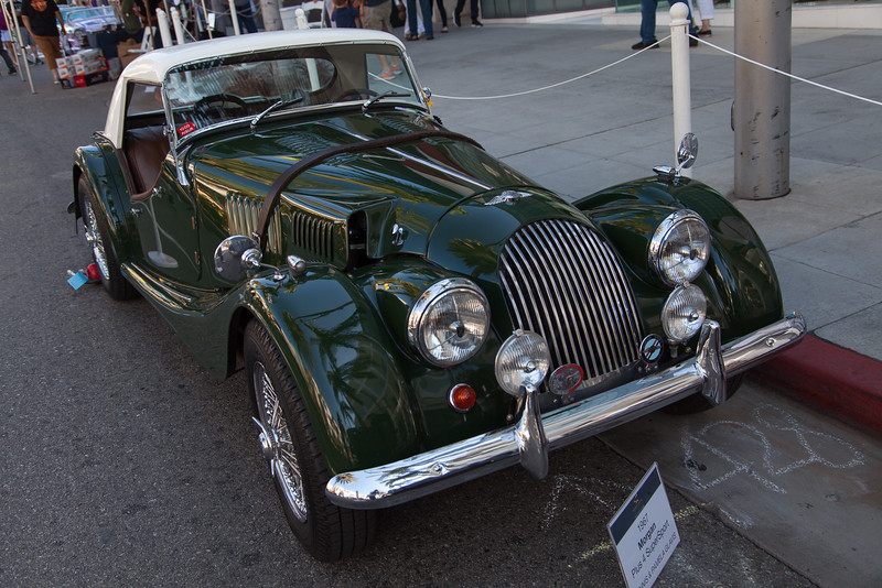 1967 Morgan Plus 4 SuperSport owned by Dennis & Pamela Glavis