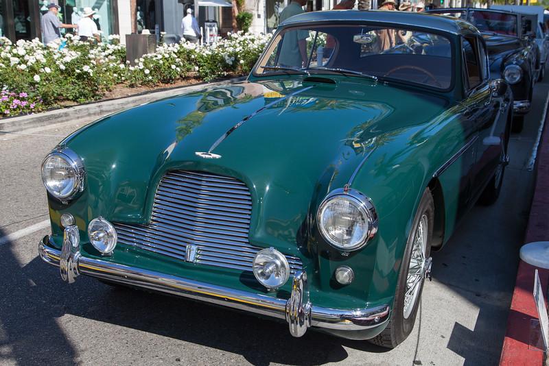 1957 Aston Martin DB2/4 Fixed Head Coupe