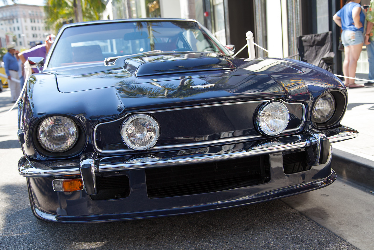 1977 Aston Martin Vantage Coupe owned by Buddy Pepp