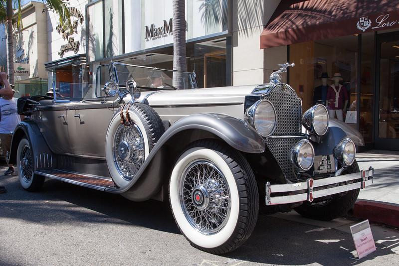 1929 Packard Dual Cowl Phaeton by Dietrich owned by Dana & Lianne Graham