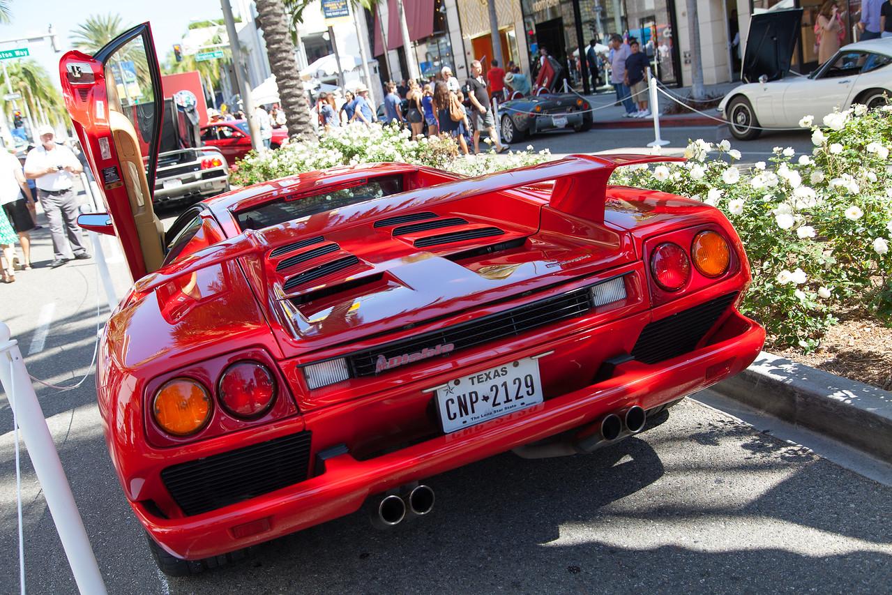 1991 Lamborghini Diablo owned by Raoul Grosvenor Van Kirk