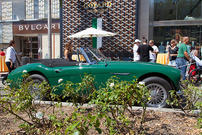 1966 Austin-Healey 3000 Roadster BJ8, owned by David Hibbert