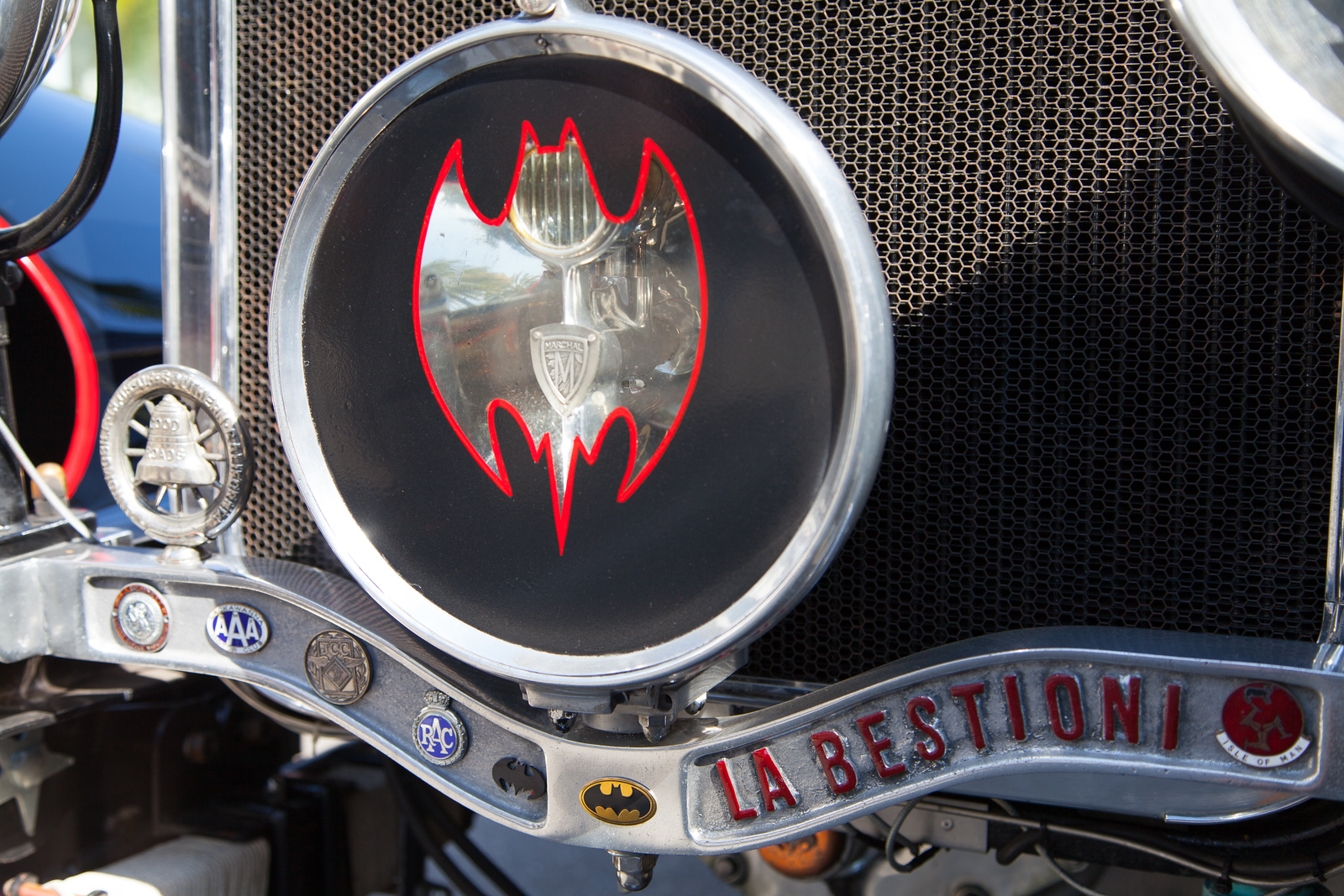 La Bestioni Batmobile, created by Gary Wales