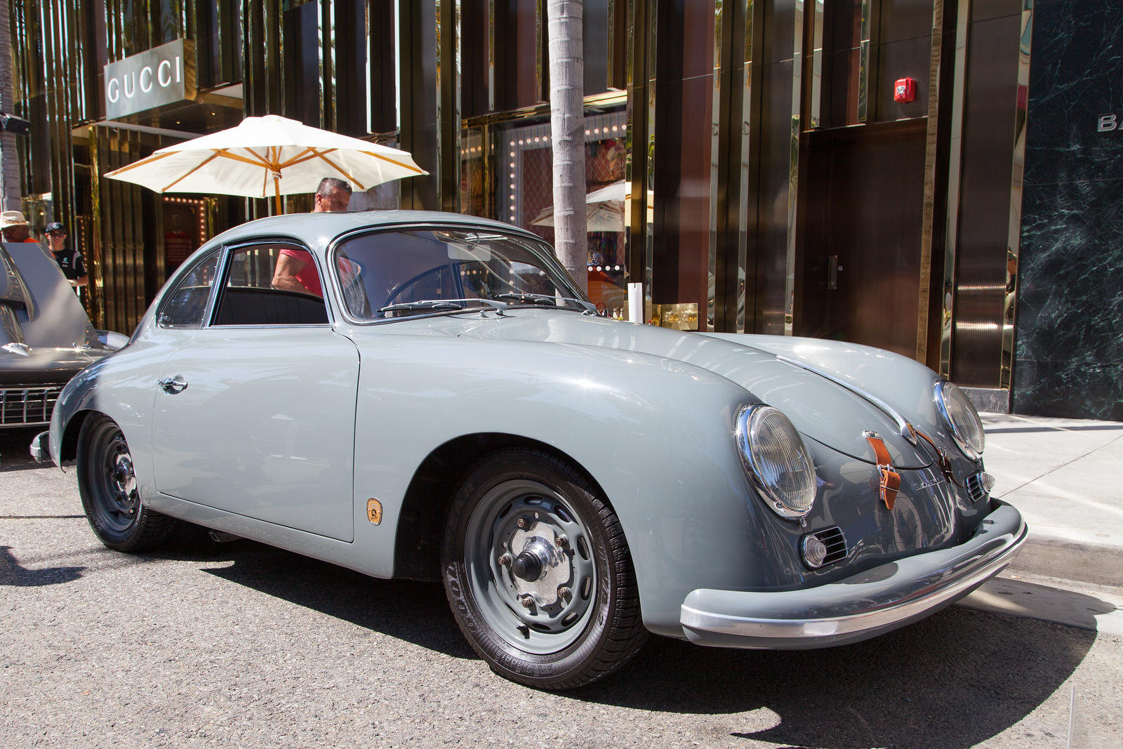 1956 Porsche 356A Coupe, owned by Keith Collins