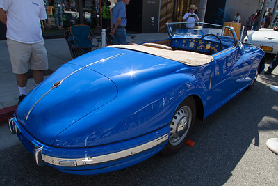 1950 Bristol 402 Roadster, owned by Stanley Bauer