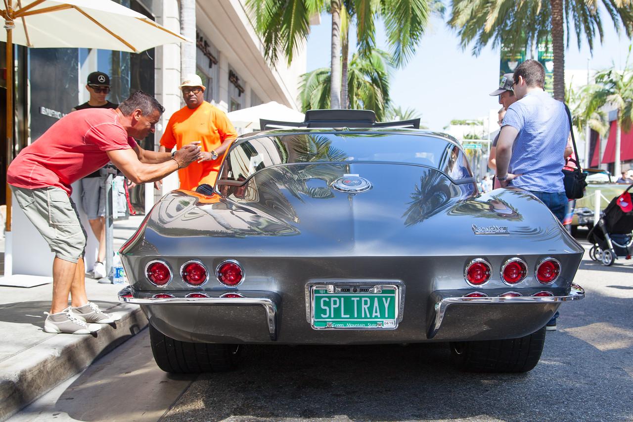 1966 Chevrolet Corvette Custom, owned by Scott Roth