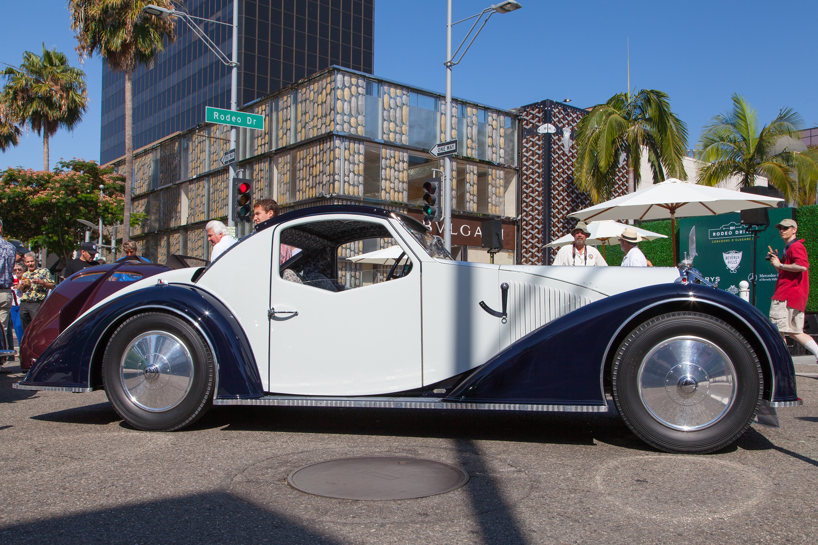 1936 Voisin Aerodyne, owned by the Mullin Automotive Museum