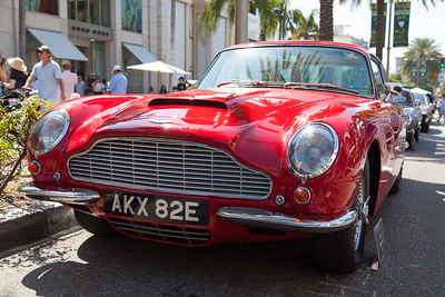 1967 Aston Martin DB6, Tony & Laureen Hart