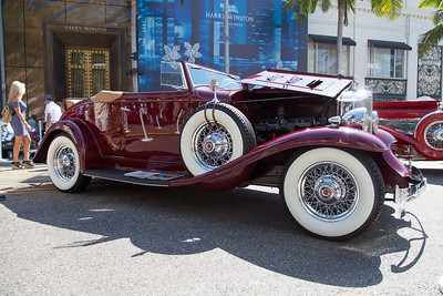 1932 Packard Series 900 Roadster Coupe, owned by Sandy Bettelman